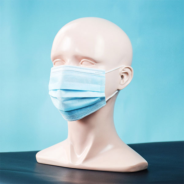 Disposable medical face cover